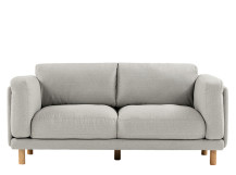 Wilmot 2 seater, Textured Wheat