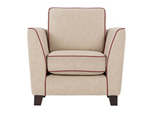 Wolseley Armchair, Fawn Beige Wool