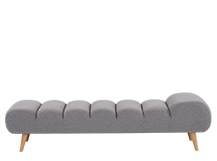Caterpillar Day Bed, Kestrel Grey Wool Mix