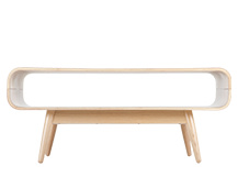 Esme Compact Coffee Table, Ash