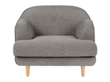 Gracie Armchair , Drawing Room Grey