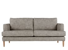 Kotka 2 Seater Sofa, Vintage Coal Cotton Mix