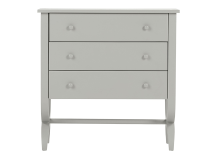 Leila Chest of drawers, Grey
