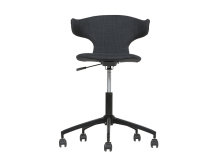 Ronnie Office Chair, Concrete Grey