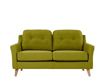 Rufus 2 Seater Sofa, Leaf Green