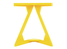 Zable Side Table, Yellow