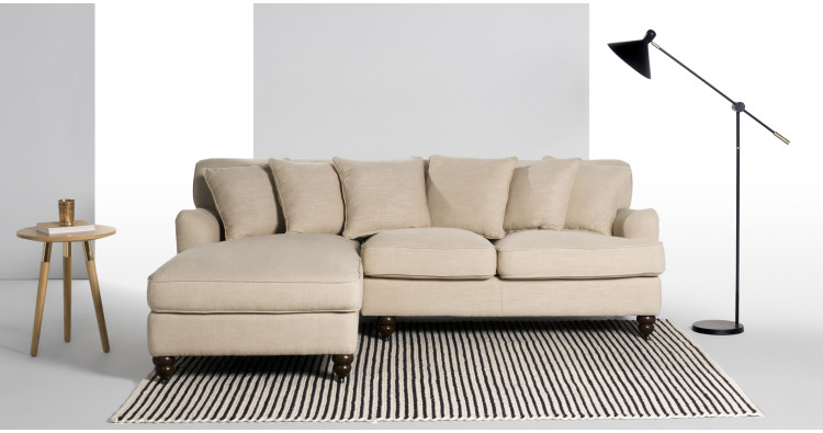 Orson scatter back left hand facing corner unit biscuit for 750 sofa chaise