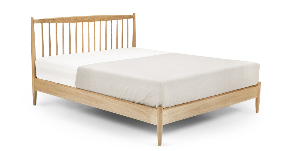Willow, un lit king-size, chêne | made.com