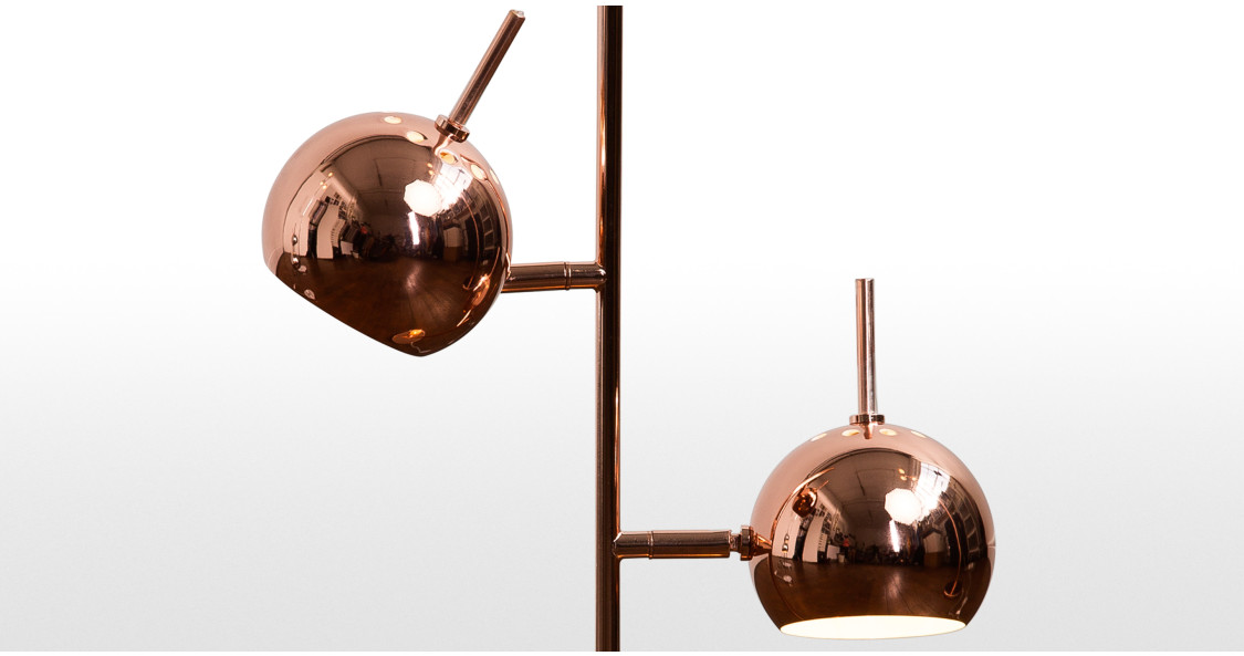 Austin table lamp copper for Lamp shades austin
