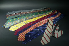 Tim Fischer's ties tell many stories. Museum of Australian Democracy Collection