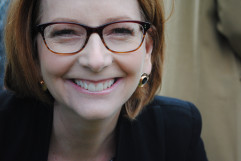 Julia Gillard, by Sophie Deane. Museum of Australian Democracy collection.