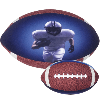 Picture of Football 3D Microbead Pillow