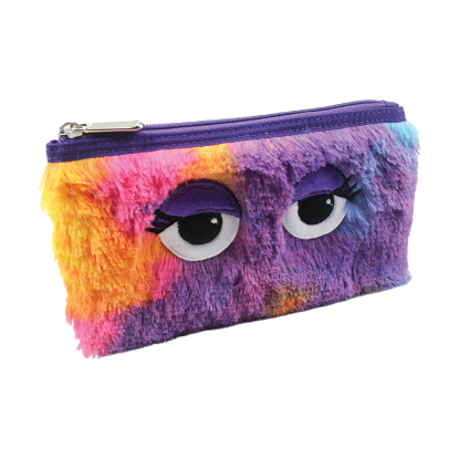 Picture of Tie Dye Furry Pencil Case