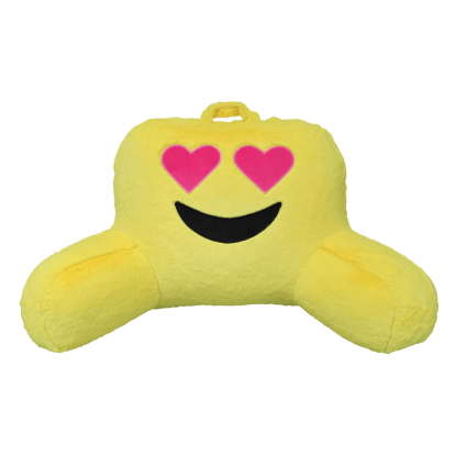 Picture of Heart Eyes Emoji Lounge Pillow