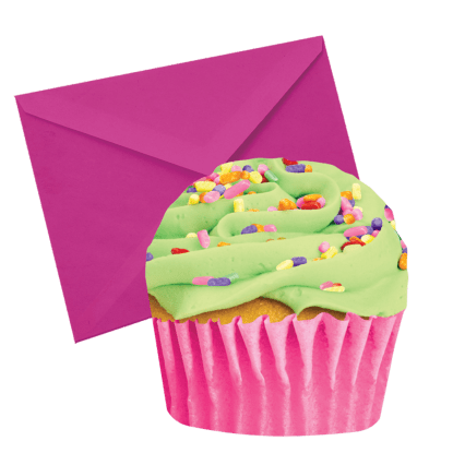 Picture of Celebration Cupcake Scented Notecards