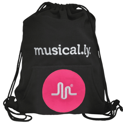 Picture of Musical.ly™ Drawstring Bag