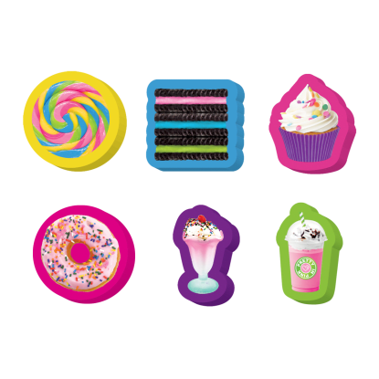 Picture of Sweets Mini Eraser Set
