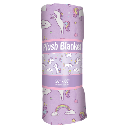 Picture of Unicorn Wishes Plush Blanket