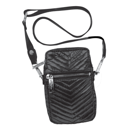 Picture of Black Chevron Cell Bag