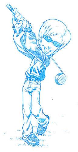 Hot Shots Golf, Concept Art