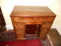 Mid 18th C Kneehole Desk