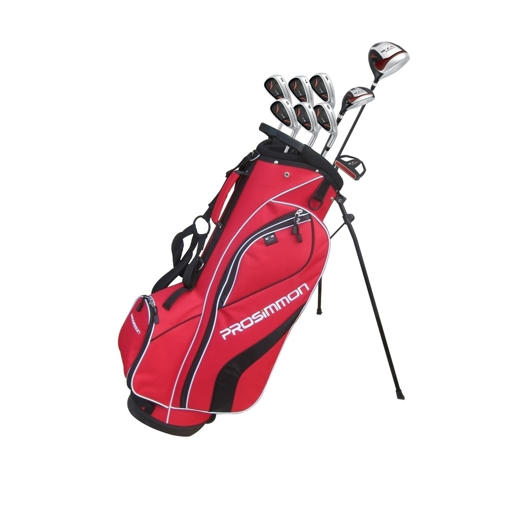 Prosimmon_V7_Golf_Package_Set_1_Inch_Shorter__Red