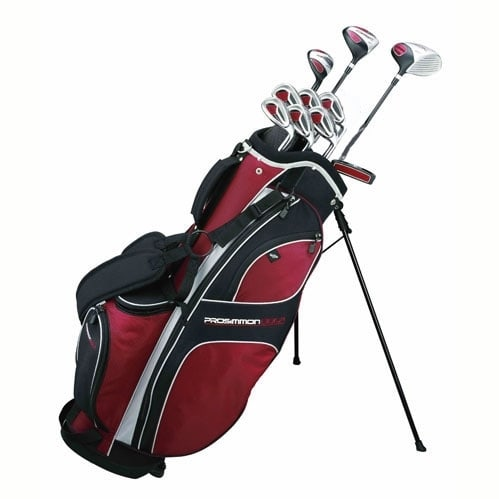 Prosimmon_DRK_Mens_GraphiteSteel_Golf_Set_&_Bag