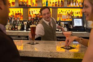 Drinks at the Hilton Harrisburg - 1700 Steakhouse