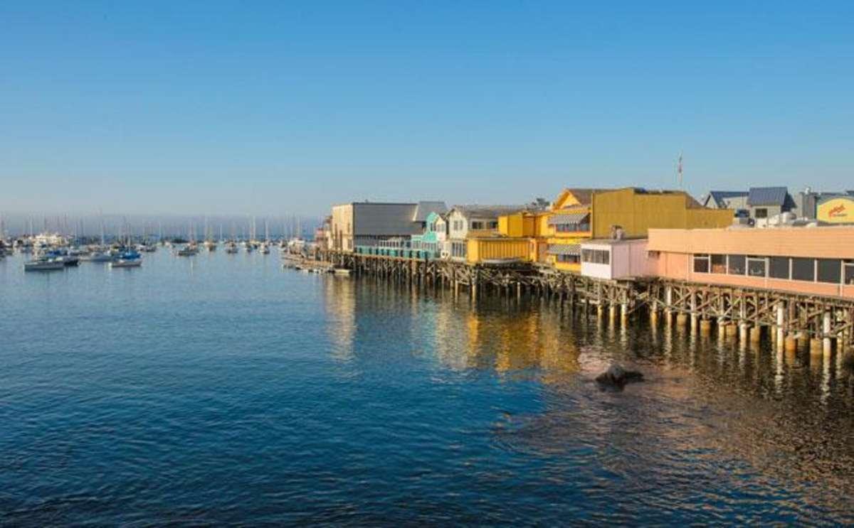 Old Fisherman's Wharf, Monterey