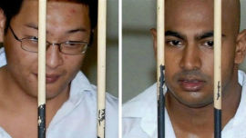 The last two Australians to receive the dealth penalty, Andrew Chan and Myuran Sukumaran.