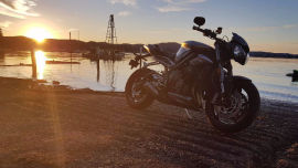 Delivering the power to the Triumph Street Triple RS was achieved by sending a fleet of electronic engineers to Hogwarts School of Witchcraft and Wizardry.