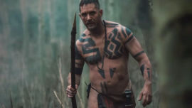Tom Hardy in Taboo.