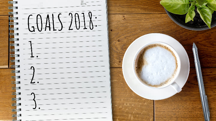 Forget new years resolutions (Image: Shutterstock).