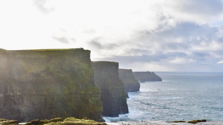 The Cliffs of Moher, Ireland (Image uploaded to Reddit by u/PattyGolfs).