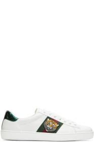 구찌 에이스 스니커 (호랑이) Gucci White Ace Tiger Sneakers