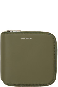 아크네 스튜디오 Acne Studios Green Csarite Wallet