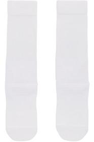 Y-3 White & Black Tube Socks