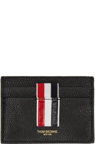 Thom Browne 톰 브라운 Black Stripe Single Card Holder