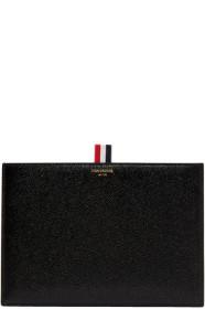 Thom Browne 톰 브라운 Black Leather Pouch