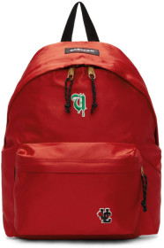 Undercover Red 이스트팩 Eastpak Edition Satin Padded Pakr UC Backpack