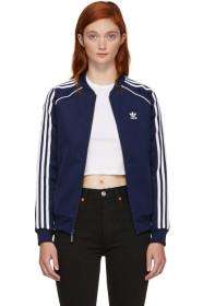 아디다스 Adidas Navy SST Track Jacket