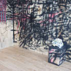 Sterling Ruby, 2004, installation view, Foxy Production, New York