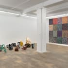 Gabriel Hartley, Totaled, 2012, installation view, Foxy Production, New York