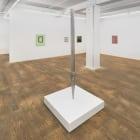 Daniel Sinsel, Untitled, 2010, aluminum, wood, 84 1/14 x 3 x 3 in.