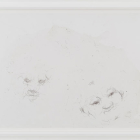Hany Armanious, Untitled, 2007, hair on paper, 31 x 42 in. (78 x 107 cm.) HA_FP1016