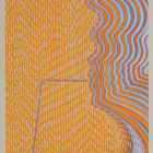 Sascha Braunig, Orange Sucker, 2014, oil on canvas over panel, 20 x 16 in. (50.8 x 40.6 cm.,) SB_FP2679