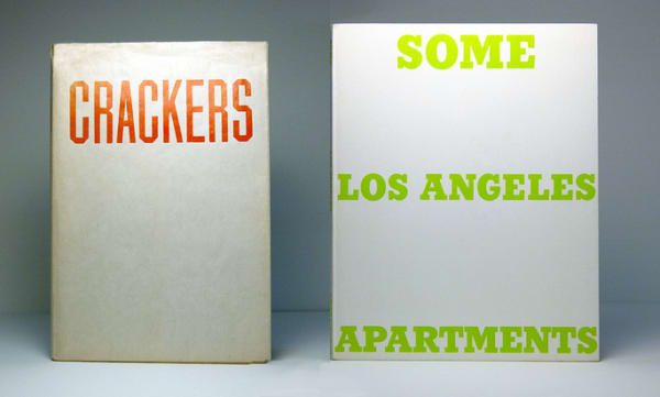 Ed Ruscha: Crackers, 1969 & Some Los Angeles Apartments, 1965