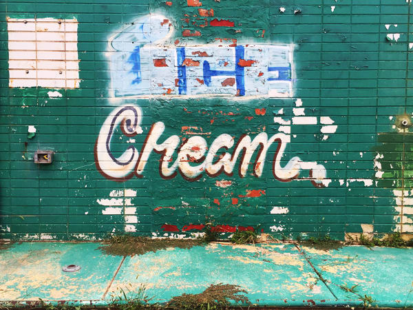 Cleveland Ice Cream 1 of 3 (2016) by LA-based artist Vincent Johnson