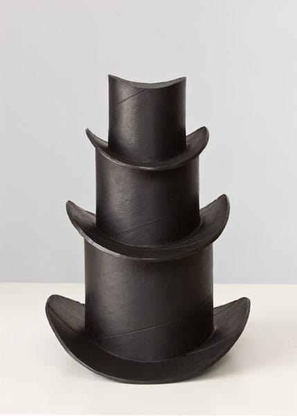 Staggered Hats (soot)