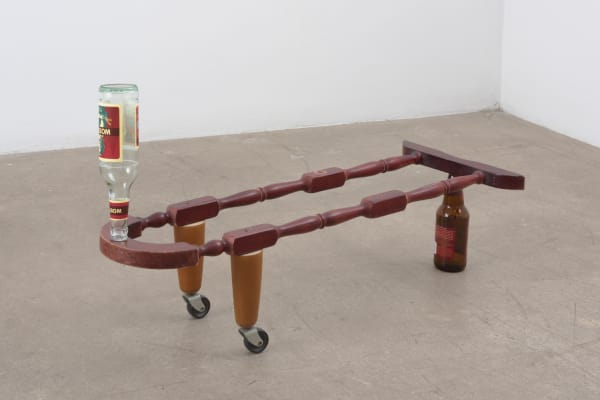 Catachresis #86 (Legs of the tables, necks of the bottles)